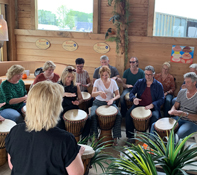Djembe workshop Den Helder