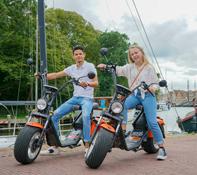 E-Scooter huren in Den Helder